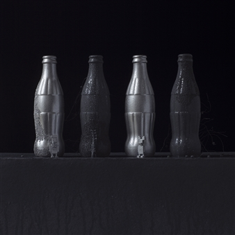 """Still Life in Wet with Andy's Coke / second variation Archival Pigment Print 20"""" x 20"""""""