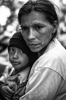 The Migrant Caravan - Mother