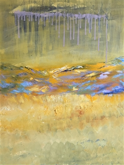 """Hope Descends Oil on Canvas 40"""" x 30"""""""