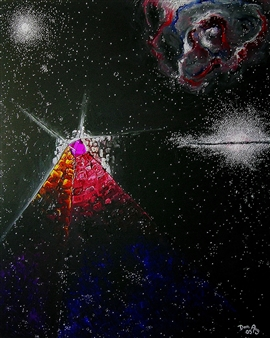 Cosmic Crystal Beacon