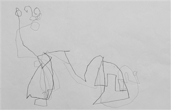 """VvA-I Pencil on Paper 12"""" x 16.5"""""""