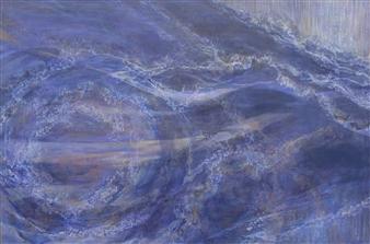 "14・Constant Movement Acrylic on Canvas 51.5"" x 76.5"""