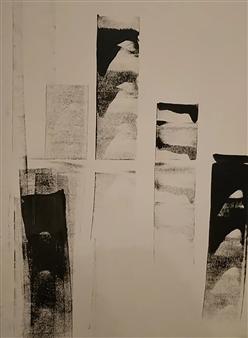 """Film Noir Acrylic on Canvas 31.5"""" x 27.5"""""""