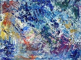 "Freedom Acrylic on Canvas 12"" x 16"""