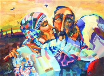 "Recruit Acrylic & Oil on Canvas 24"" x 31"""