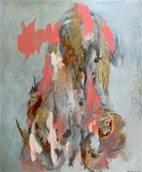 """Listening Deeply Again Acrylic on Canvas 48"""" x 40"""""""