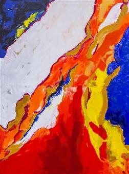 """Sensitivity Acrylic on Canvas 48"""" x 36"""""""