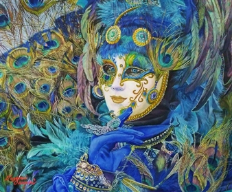 Venetian Mask 3