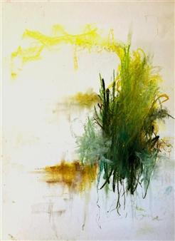 "Pinnacles Pastel on Paper 24"" x 18"""