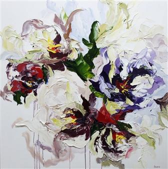"""Harmony Oil on Canvas 40"""" x 40"""""""
