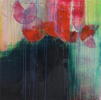 "Transcendental Acrylic on Canvas 36"" x 36"""