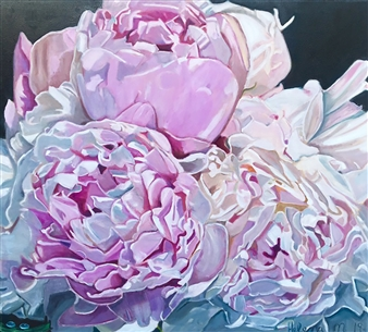 Waterdrops on Peonies 'Andra'