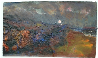 Peeling Velvet Moon