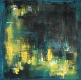 "Blinker Acrylic on Canvas 24"" x 24"""