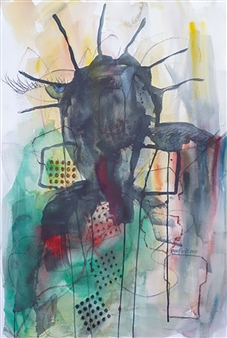 """Unexpected 6 Mixed Media on Paper 30"""" x 22.5"""""""