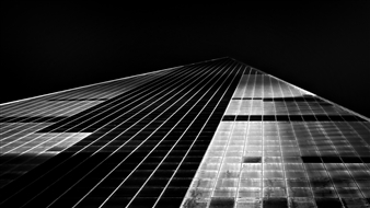 "NYC Sky Road Silver Gelatin Print 23.5"" x 35.5"""