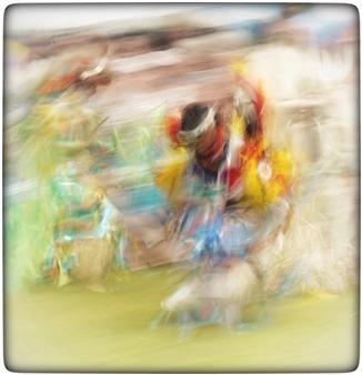 "Color Celebration Photograph on Plexiglass 42"" x 40"""