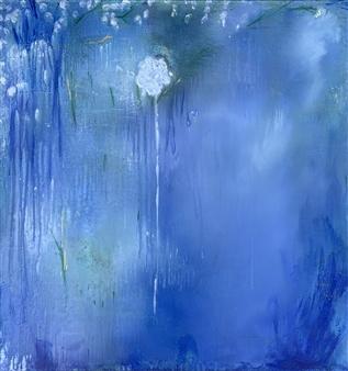 """Mystical Flower Acrylic on Canvas 36"""" x 36"""""""