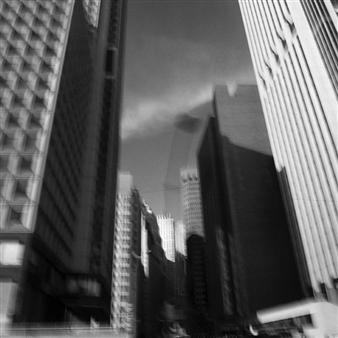 "New York 1 Photograph on Fine Art Paper 24"" x 24"""