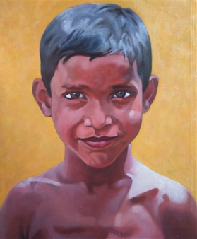 A Boy on Summer Day