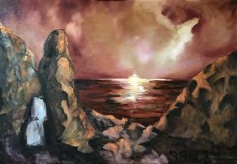"""He Spoke Oil on Canvas 27.5"""" x 39"""""""