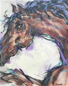 "Windsong Acrylic on Canvas 20"" x 16"""