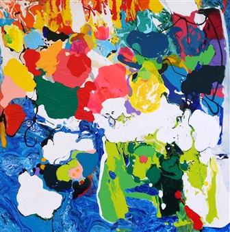 "Euphoria Acrylic on Canvas 36"" x 36"""