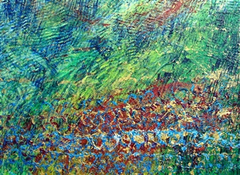 Colorful Sky & Meadow