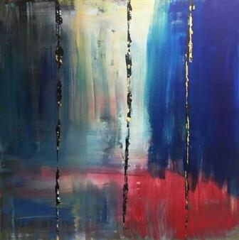 "Balancing Act Acrylic on Canvas 36"" x 36"""