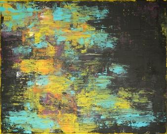 """Merry-Go Acrylic on Canvas 16"""" x 20"""""""