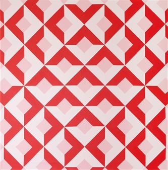 """The Mystery of Geometry #5 Acrylic on Canvas 31.5"""" x 31.5"""""""