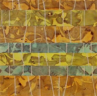 "Sunrise Oil on Birch Panel 30"" x 30"""