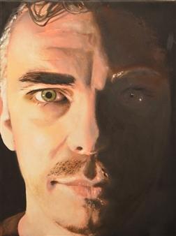 """Vincent Oil on Canvas 15.5"""" x 12"""""""