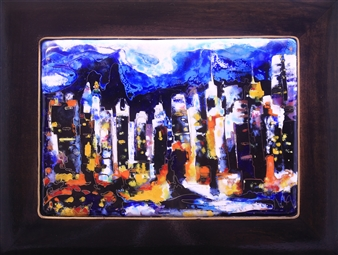 Night in NY