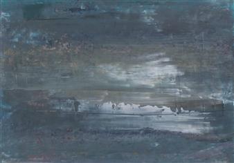 """Iceberg 1 Oil on Paper 11.5"""" x 16.5"""""""