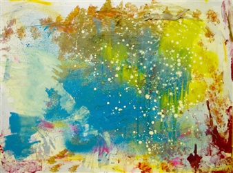 """Mojito Acrylic & Oil on Canvas 30"""" x 40"""""""