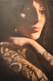 """Sofia Oil on Canvas 16"""" x 12"""""""