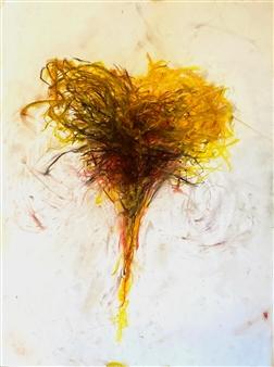"Monroe Harvest  (CT study) Pastel on Paper 24"" x 18"""