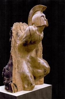 """Itaca  (Pezzo Unico) Wood 47.5"""" x 35.5"""" x 35.5"""""""
