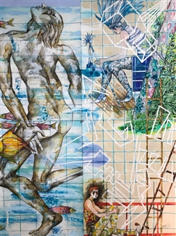 Three Circus Performers 177S