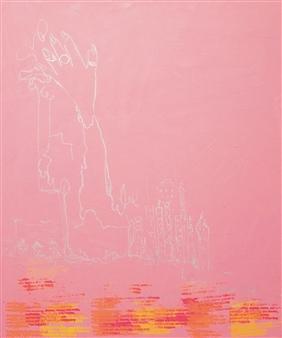 "Upper Hand 3 Acrylic on Canvas 35.5"" x 29.5"""