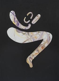 """Nude 5 Acrylic on Canvas 48"""" x 36"""""""