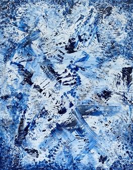 """Inhale Acrylic on Canvas 35.5"""" x 27.5"""""""