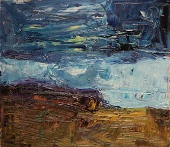 Dark Clouds Over Totterish Ridge