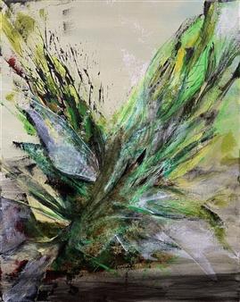 "Frustration Acrylic on Canvas 20"" x 16"""