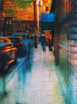 """Blue Movement Archival Pigment Print 17"""" x 11"""""""