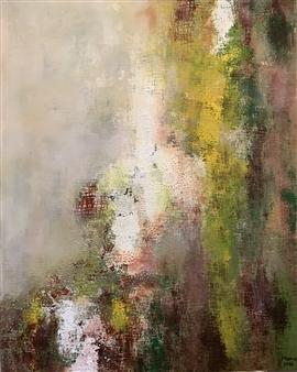 """Fog Acrylic on Canvas 39.5"""" x 31.5"""""""
