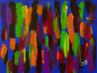 """Néon Acrylic on Canvas 18"""" x 24"""""""