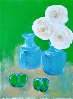 "Still Life No.592 Acrylic on Paper 23"" x 18"""