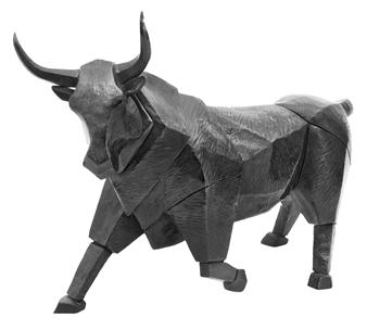 """Toro Negro  (Black Bull) Bronze 23.5"""" x 12"""" x 15.5"""""""